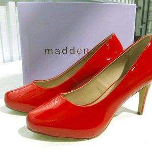 Madden Girl Jelsey Pumps, Red, 9